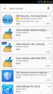 Clean Master atasi HP Lambat