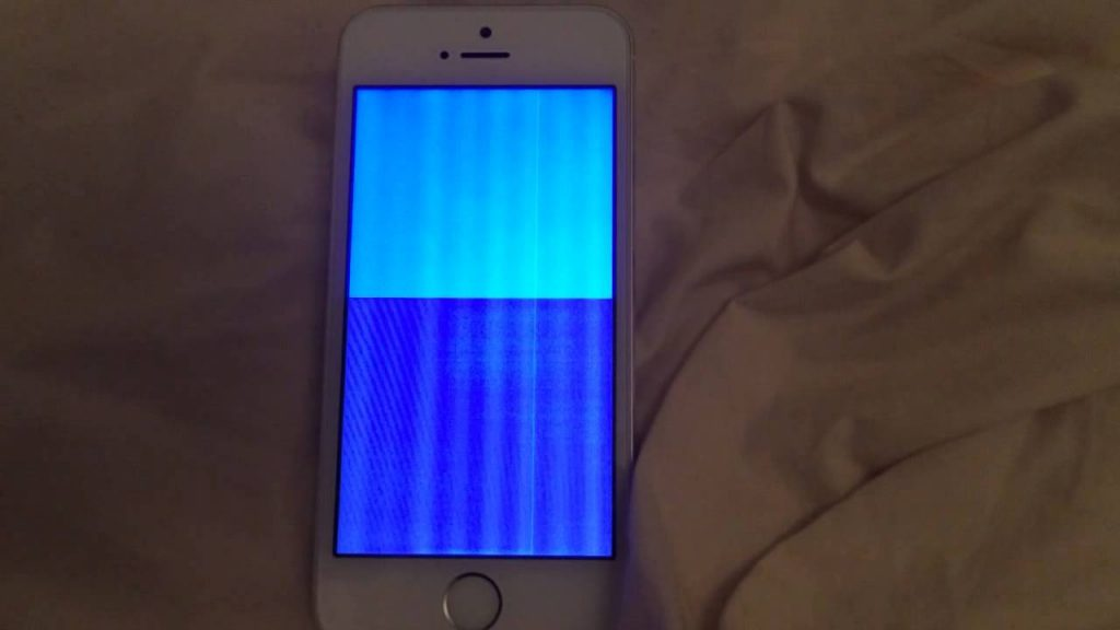 Layar Merah pada iPhone