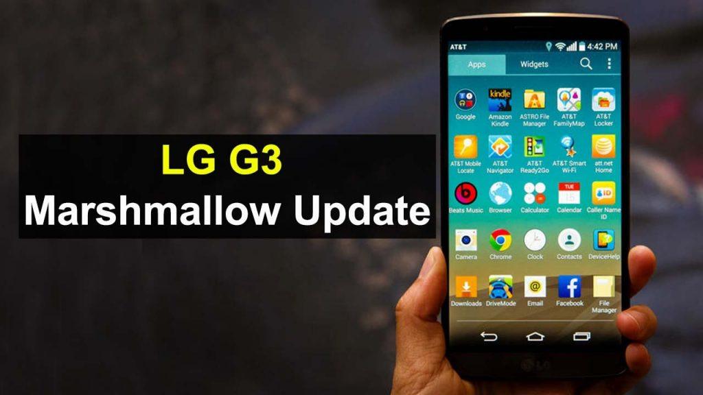 LG G3 Marsmallow