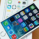 iPhone 5 jatuh dan layar hitam bergaris
